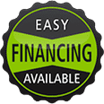 easy financing badge