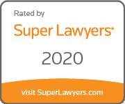 Badge SuperLawyers largeorange